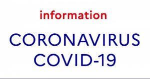 Infos Coronavirus